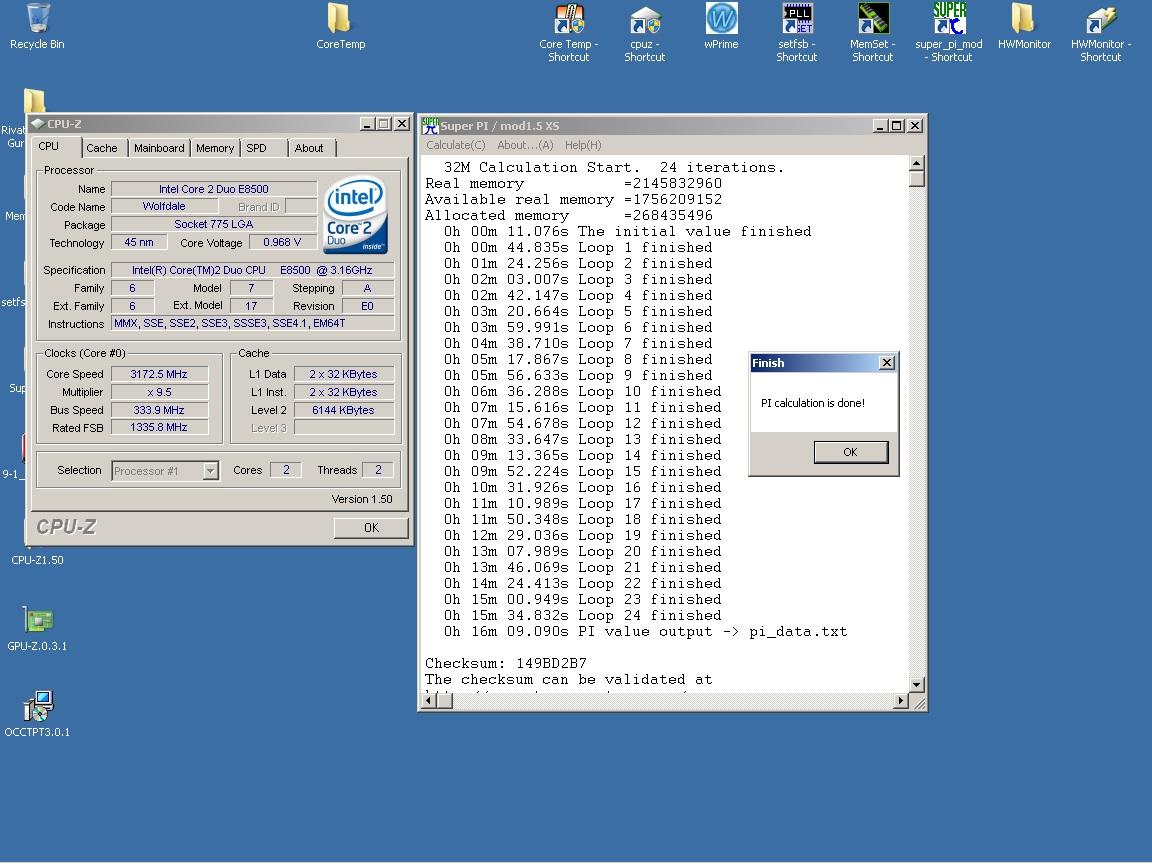 E8500 en test - Page 2 SuperPi32M%203.16Ghz%200.96v%20vcore