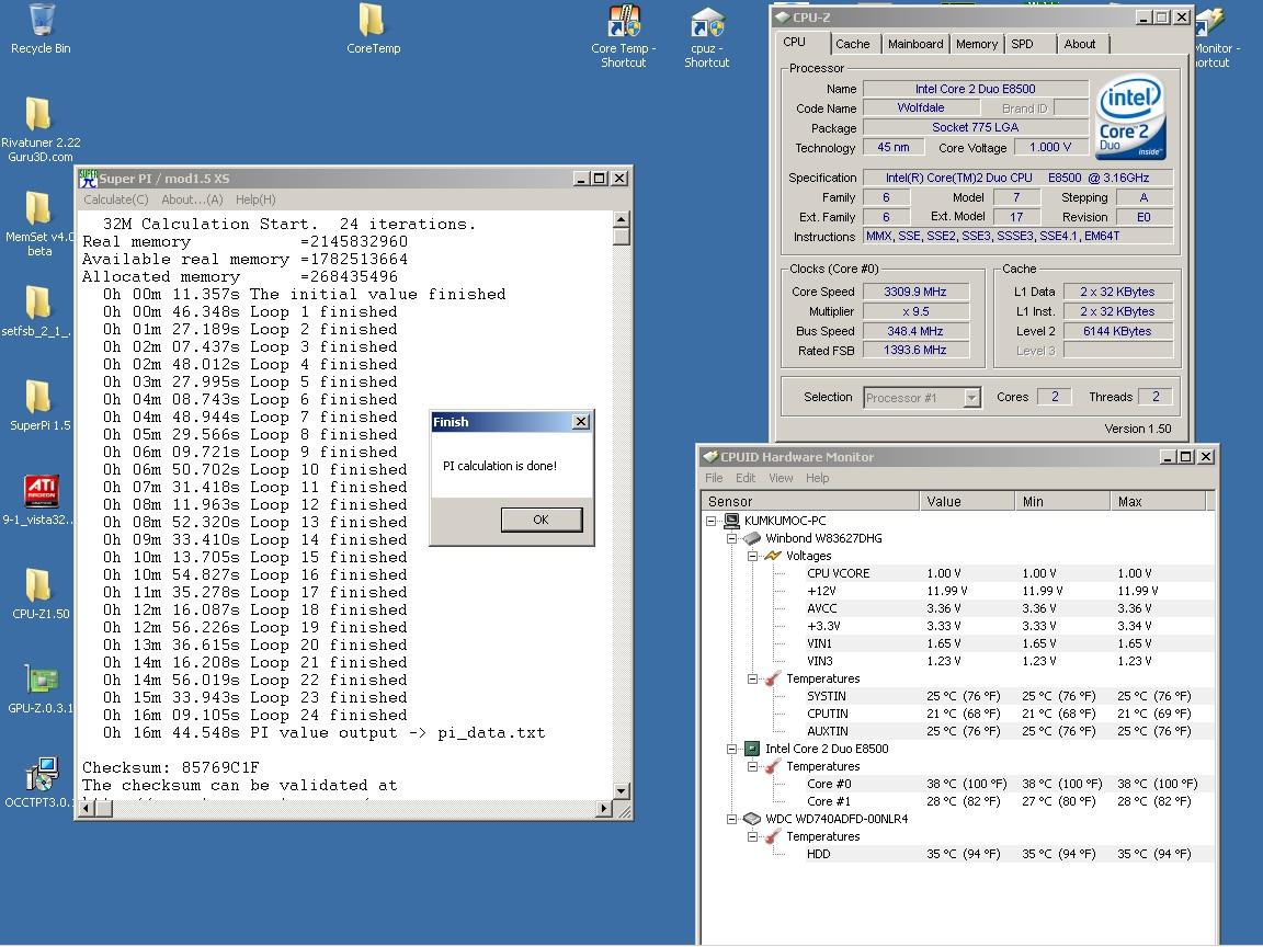 E8500 en test - Page 2 SuperPi32M%203.310Ghz%201.000v%20vcore